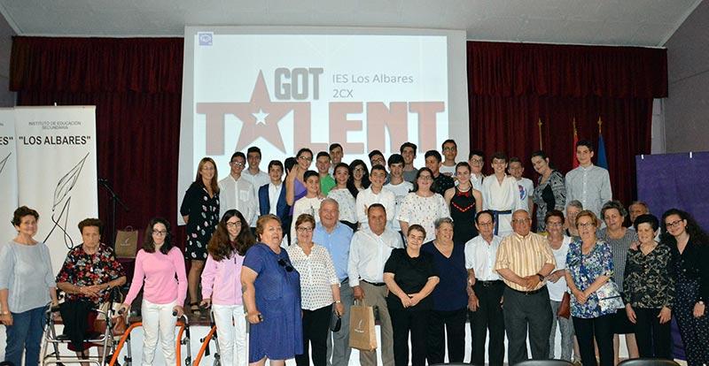 got-talent-ies-albares-abuelos-alumnos