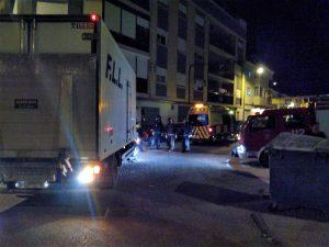 Fallece el hombre que fue atropellado por un camión en el Camino de Murcia
