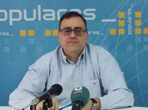 Sigue la purga en el PP de Cieza y cesan al portavoz y coordinador Enrique Fernández