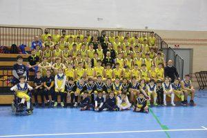 El Cieza Escuela de Baloncesto se viste de gala para presentar a sus equipos