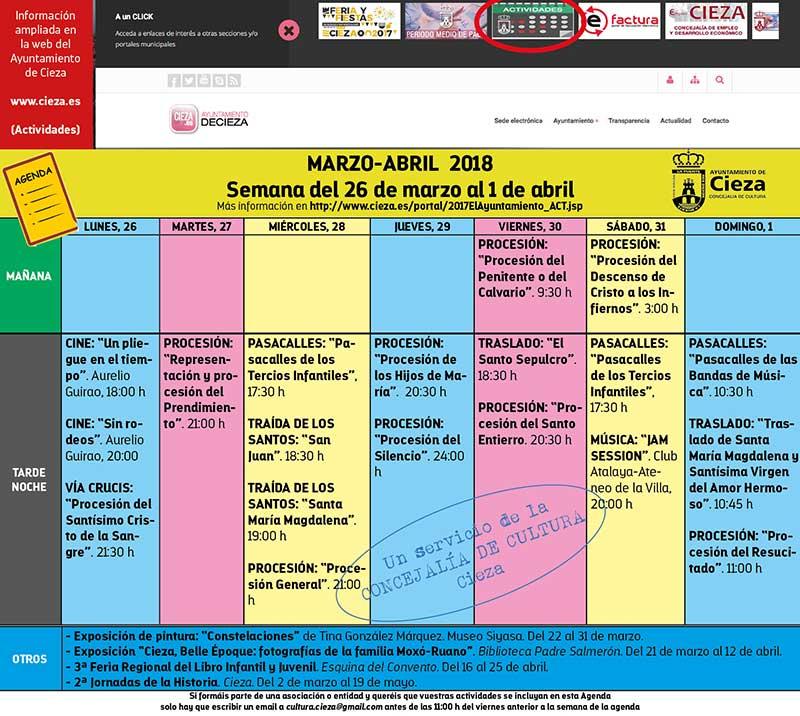 agenda-del-26-de-marzo-al-1-abril