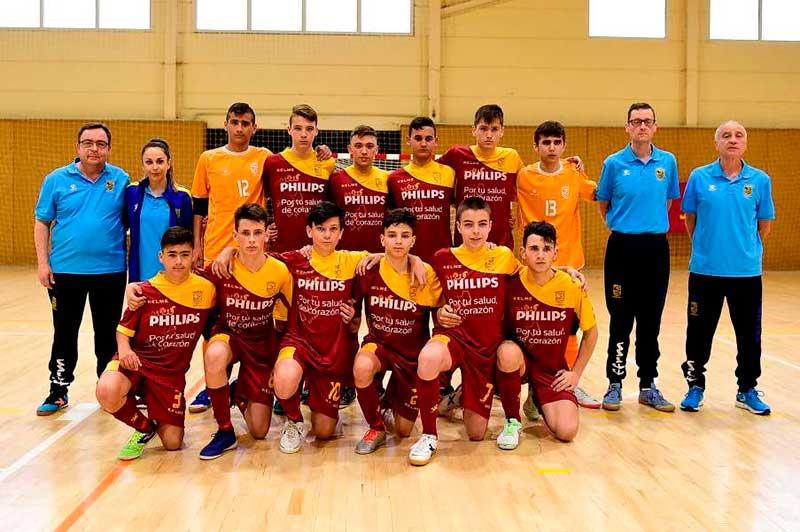 cuatro-ciezanos-proclama-subcampeones-espana-infantil-futbol-sala