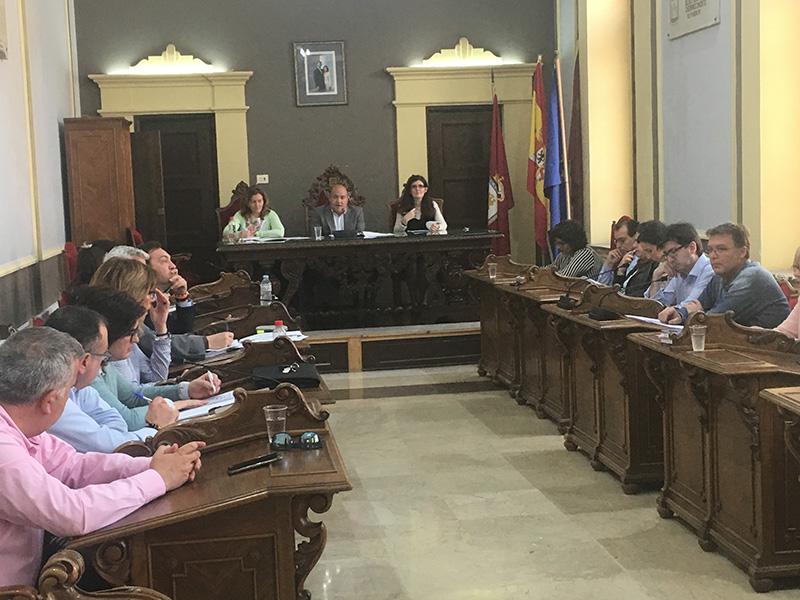 el-pleno-municipal-resalta-en-un-agenda-con-pocas-actividades