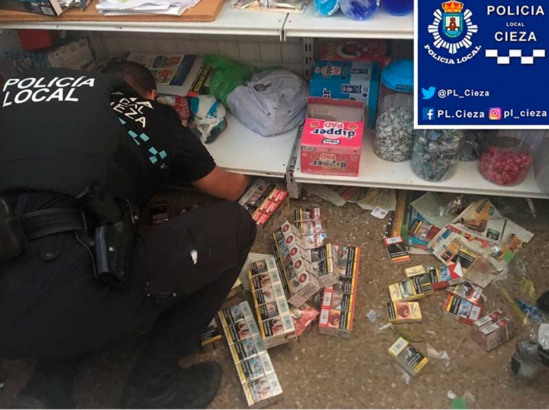 la-policia-local-de-cieza-incauta-tabaco-en-un-local-que-lo-vendia-ilegalmente