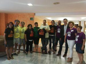 """Podemos Cieza viaja a la Asamblea Regional para apoyar la iniciativa que """"dificultaría"""" el fracking"""