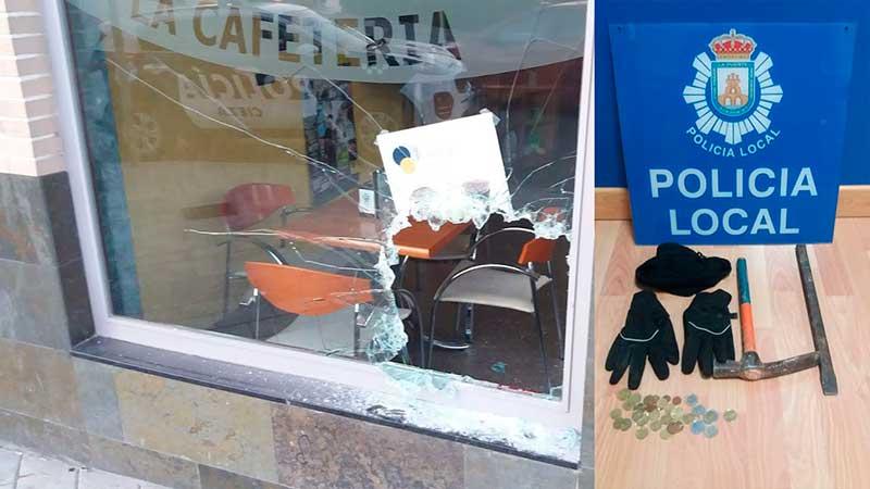 policia-local-detiene-ladron-butron-cafeteria-cieza