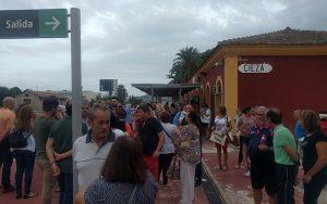 UPYD apoya la protesta vecinal para que la alta velocidad tenga parada en Cieza