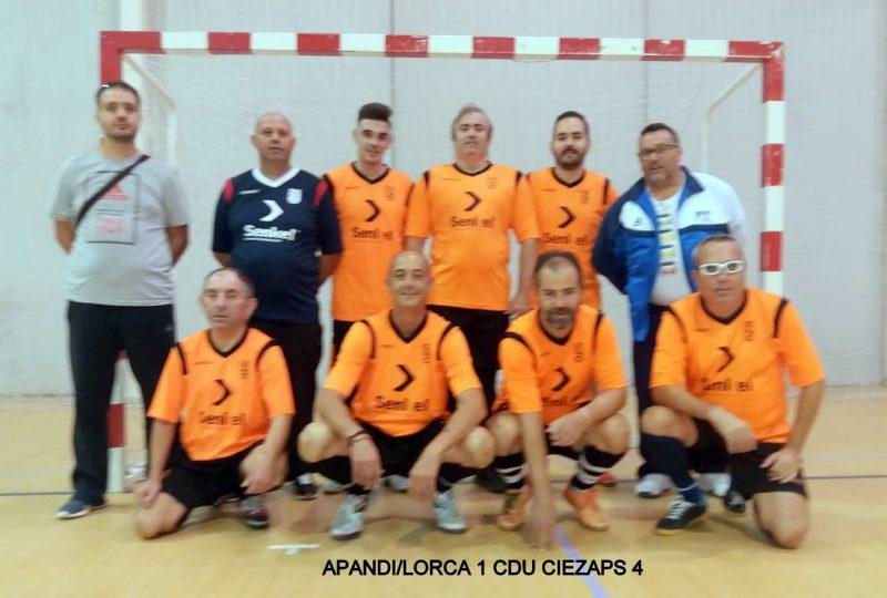 el-c-d-u-ciezaps-empieza-la-liga-ganando-a-apandislorca-en-la-liga-regional-de-futbol-sala-para-personas-con-discapacidad