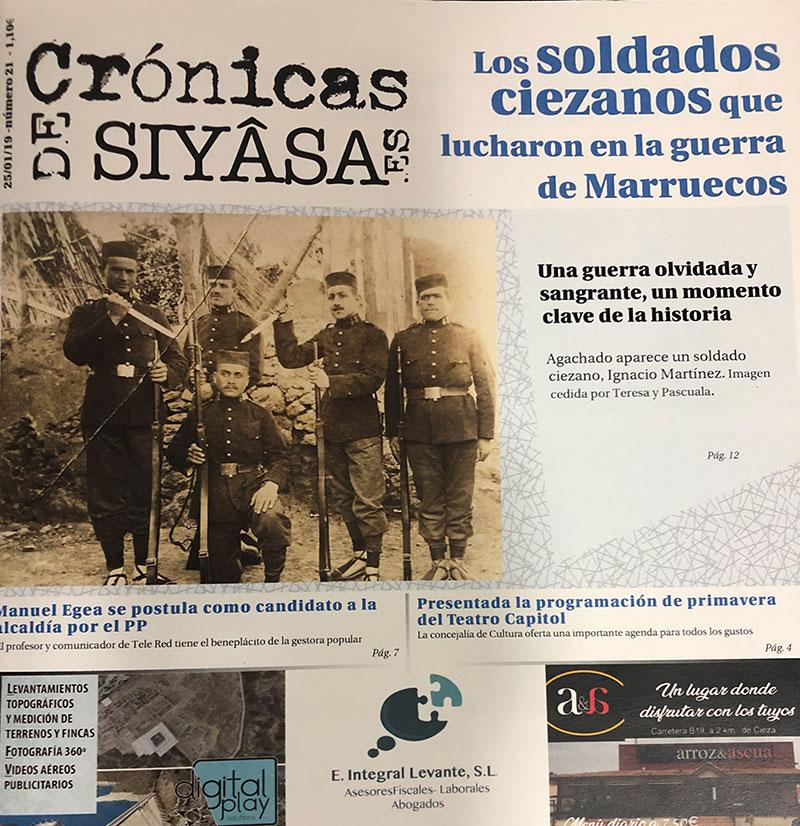 los-ciezanos-de-la-guerra-de-marruecos-y-el-candidato-a-la-alcaldia-del-pp-en-cronicas-de-siyasa
