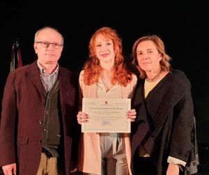 Angela Erquicia, del IES Diego Tortosa, recibió el Premio Extraordinario de Bachillerato