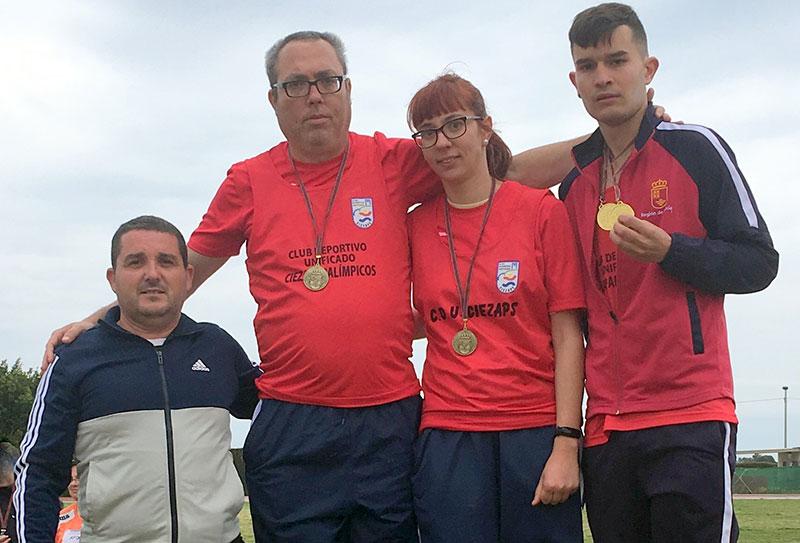 ciezaps-logra-cinco-oros-y-cinco-records-en-el-campeonato-regional-de-atletismo