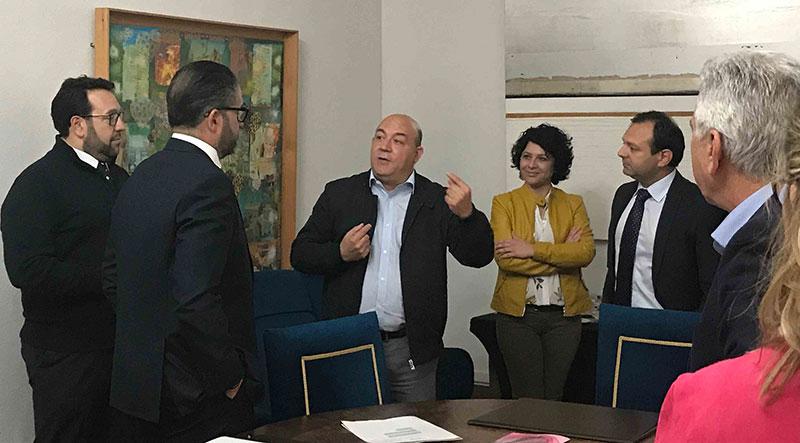 el-alcalde-recibe-a-la-comision-ejecutiva-de-la-fremm-que-se-reune-en-cieza-con-motivo-de-floracion