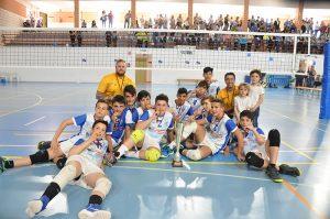 Voleadores Cieza se proclama otra vez campeón de Liga Infantil Masculino