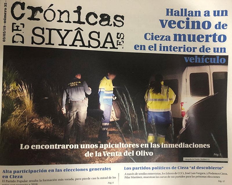 el-ciezano-que-encontraron-fallecido-en-un-vehiculo-y-las-entrevistas-a-pilar-martinez-y-jose-luis-vergara-en-cronicas-de-siyasa