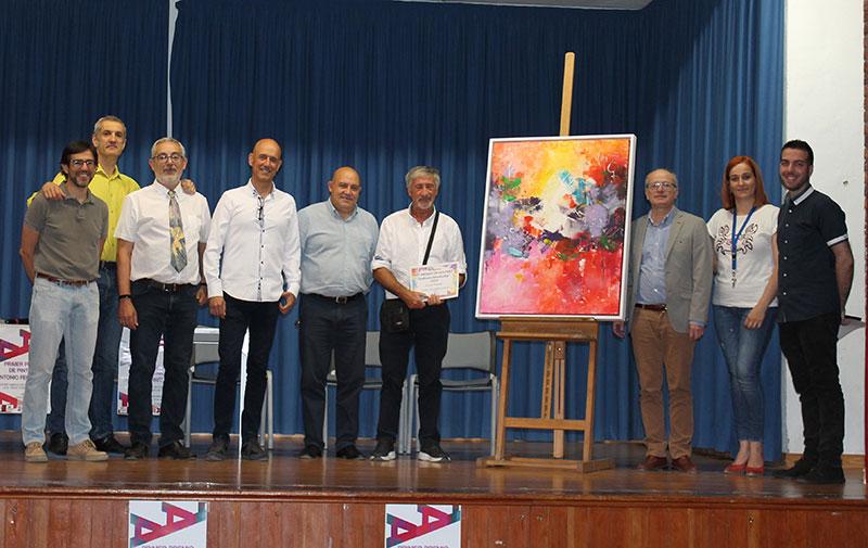 el-gallego-ricardo-sarandeses-recibio-el-i-premio-de-pintura-antonio-fernandez