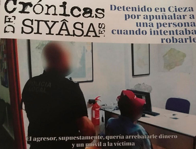 el-apunalamiento-de-un-hombre-en-cieza-y-la-entrevista-exclusiva-a-violet-en-cronicas-de-siyasa