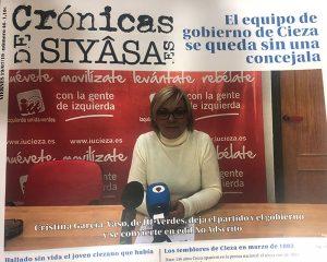 La dimisión de la concejala Cristina García-Vaso y toda la actualidad en Crónicas de Siyâsa