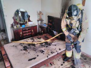 Sofocado un incendio en la calle Larga de Cieza