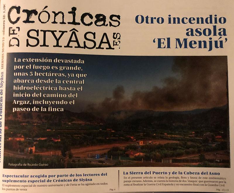 el-incendio-de-el-menju-y-toda-la-actualidad-de-feria-en-cronicas-de-siyasa