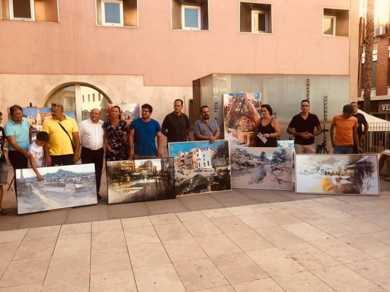 manuel-sanchez-primer-premio-en-el-v-concurso-nacional-de-pintura-al-aire-libre-rincones-de-cieza