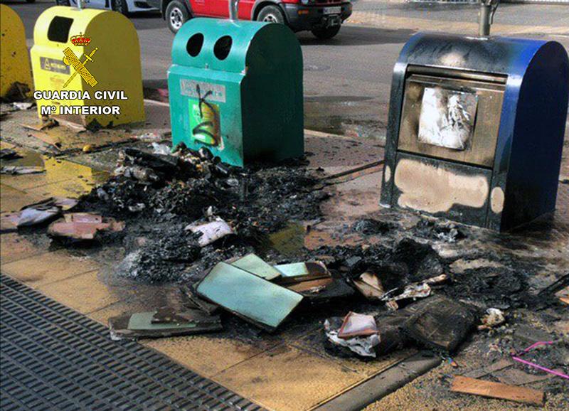 detenido-el-presunto-autor-del-incendio-intencionado-de-16-contenedores-de-basura-en-cieza