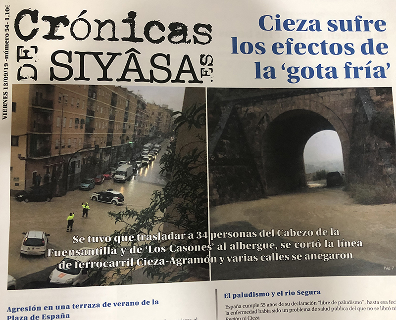 toda-la-informacion-sobre-la-gota-fria-que-sufre-cieza-en-la-edicion-impresa-de-cronicas-de-siyasa