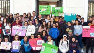 El IES Los Albares participa en 'Caminando por un reto'
