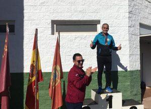 Manuel Villalba se proclama doble campeón regional en el Campeonato Máster de la Región de Murcia